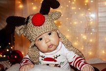 Baby Christmas Photoshoot ideas / Christmas photograpy ideas