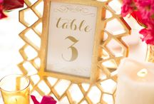 Modern wedding with a gold undertone / Modern fun style with metallic gold as the base color...