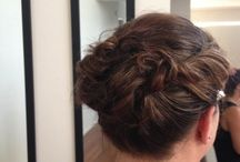 Wedding Hairstyles / Wedding hairstyles, updo with curls