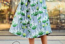 Skirt & Dress / Skirt & Dress #dresses #skirt #jupe #robes #robe