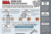 MMA Fightwear Infographics / Cool MMA gear and apparel Infographics