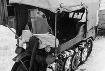 II WW German motorbikes & kettenkrad
