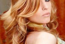 Coper hair highlights