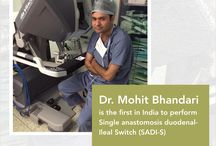 Bariatric Surgeon-Dr. Mohit Bhandari / Best Bariatric Surgeon: Dr. Mohit Bhandari is the youngest obesity surgeon in India he has performed 6000+ bariatric surgeries and 500+ robotic surgeries.
