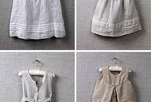 Linen kids clothing