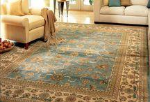 Area Rug Ideas / 1017 Bullard Court Suite 103, Raleigh, NC 27615 919-848-9232 www.carolinaflooringinc.com  For spreading personality around a room, the area rug has few rivals.