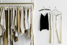 Closet / #clothes #walkin #interior #garderob #interiör #organize #shelves #kläder #organisera