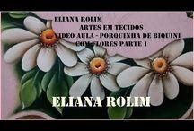 Videos Pintura em Tecido  Eliana  Rolim