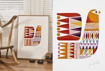 Hand Printed // Letterpress / by Amelia Herbertson Art