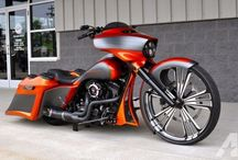 electra glide baggers