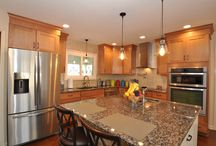 Kitchen Remodels / Riverside Construction, LLC provides Design Build Remodeling Services including Kitchens, Bathrooms, Additions, Basements and more in West Lafayette Indiana.