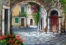 Galleria di dipinti / Paesaggi e scorci meravigliosi