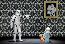 For the love of Star Wars...and Legos  / by Kristie Wheadon Gordon