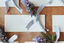 lavender wedding ideas / by Courtney Spencer