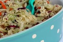 Salads and slaw recipes / by Denise Steele