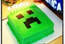 Mine craft cakes