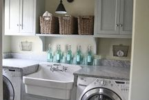 LAUNDRY & CLEANING spaces