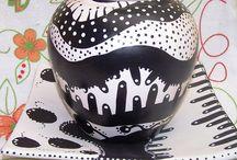 pintar ceramica - modelos