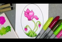 colouring techniques