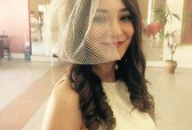 Brides hair style / Bridal accessories
