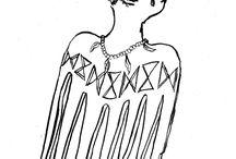 sketch african hair