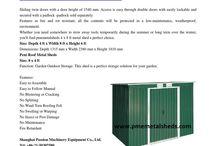 Storage Sheds Metal Sheds 4 x 6 ft Pent Roof