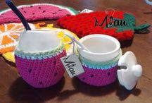 Conjuntos / Todos nuestros productos se hacen en forma artesanal Para consultas de precios y envios mandar un mail: anaramirez131@gmail.com y buscamos en facebook: https://www.facebook.com/miaudecoraciones?fref=ts