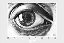 Maurits Cornelis Escher Paintings