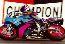 Glory Daze / Once upon a time, Bevel Heaven founder Steve Allen road raced various motorcycles for a decade in various classes with WSMC and AHRMA. Running an FT500 single and a GSX-R750 in 7 classes per weekend....  It was all good fun... until it wasn't any longer. :)