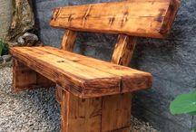 panchine legno