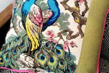 Tapestry & Needlepoint cushions and upholstery by Eclectic Chair