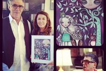 My Art Collectors / People who own my work.