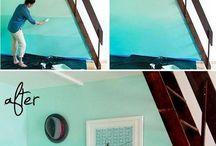 pintura sobre paredes