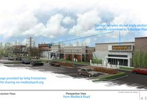 Strip malls / Inspiration for a modern plaza design