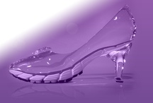 PURPLE SHOES & BAGS / by Clarinda Kotowski