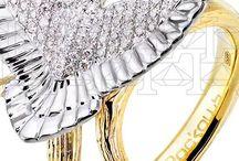 """Сollection """"Birds"""" Jewellery / Здесь вы найдете кольца и серьги из золота с бриллиантами сложные в исполнении, но легкие и комфортные в контакте.  https://www.roskosh-jewel.ru/collections/cvetushiy-avgust/"""