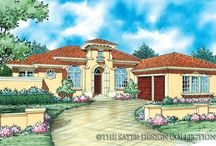 Spanish Colonial Home Plans - The Sater Design Collection / Sater Design's Spanish Colonial style home plans come in a wide variety of sizes. The exterior styling reflects America's Southwestern, Central American, and Andalusian influences.