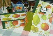 Cajas de té / Cajas en cartonaje para organizar las infusiones.