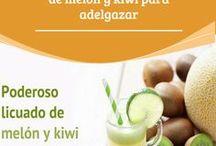 zumo kiwo y melon