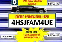 Desconto uber código viagem Gratis 1O,OO