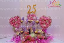 Chocolate Bouquet / Celebrate occasion with a Hand Crafted Chocolate Bouquet.... May it be a 25th Anniversary or a Birthday or any such occasions !
