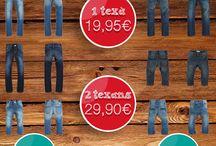 Promoción Denim / 7 días de promoción Denim en La Rodona. 8 modelos disponibles