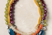 color / interesting color combinations in jewelry / by Megan Klein