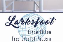 larksfoot crochet stiches