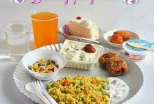 Simple birthday menu for kids