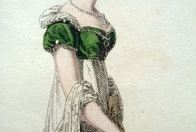 historic fashion - regency