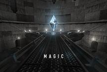 MAGIC / Entre Brazil et Zero theorem. Au fond d'un puits de mine, très loin et très profond. Un cristal de quartz géant au pouvoir magique. A vous de deviner. Modélisation, texture, lumières et traitement. Faîtes du bruit et partagez à donf' ! Visitez mon site : http://www.fredox.com/