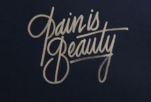 Typography / by Olivia Watts