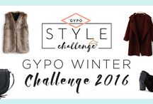 GYPO Style Challenge | Winter 2016 / This board is for participants of the Winter 2016 GYPO Style Challenge.
