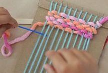 knutselen met draad en wol